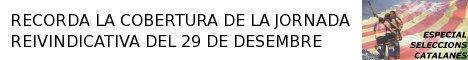 RECORDA LA COBERTURA DE LA JORNADA REIVINDICATIVA DEL 29 DE DESEMBRE